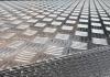 Lastre in alluminio mandorlato lega EN AW 3105A F EN 573-3