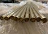 Barre tonde piene di bronzo alluminio trafilato, lega CW307G EN 12163
