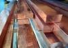 Barre piatte in rame trafilato a spigoli vivi CU-ETP CW004A EN 13601